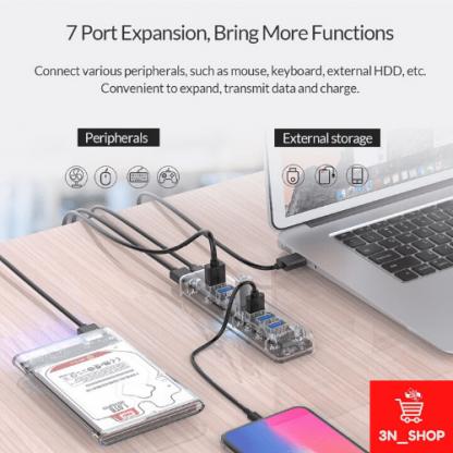 USB HUB V.3.0 ORICO (F7U-U3) 3N SHOP