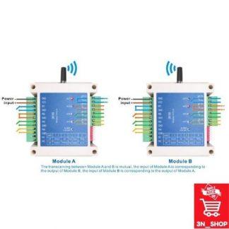 สวิทช์ไร้สาย 4 ช่องสัญญาณ รุ่น SK108 (Wireless switch control 4 channels remote control RF switch module) 3N SHOP